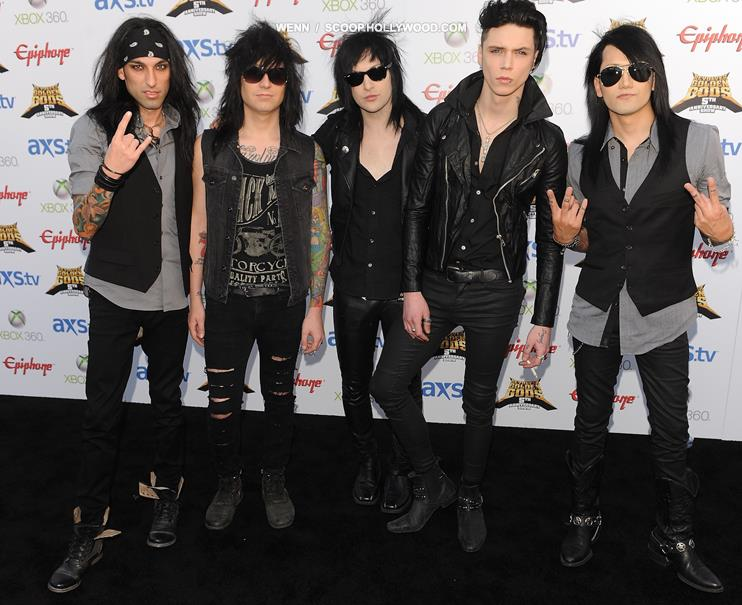 Black Veil Brides Star GOES PUBLIC With Four-Year Marriage